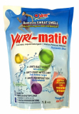 YURI MATIC Laundry Liquid Refill - Romantic Blue 1.8kg