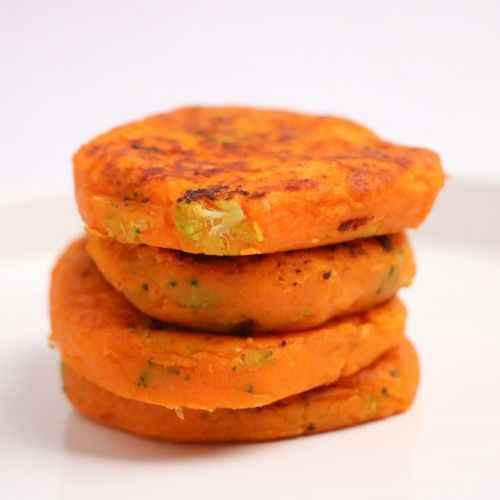Goodness Gang Kids Recipe – Broccoli with Sweet Potato Pancakes