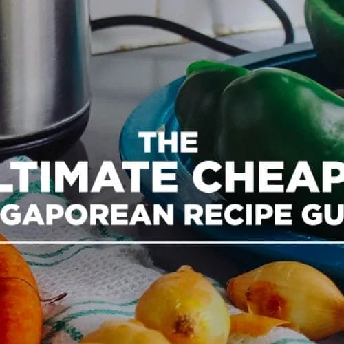 THE ULTIMATE CHEAPO SINGAPOREAN RECIPE GUIDE