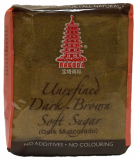Unrefined Dark Brown Soft Sugar (Dark Muscovado) 500g