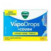 Vapodrops Honey Lemon Menthol 16s