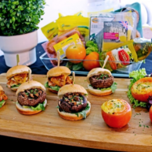 Easy to cook – Christmas Sliders under $30