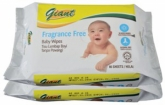 Baby Wipes Fragrance Free 2 x 80s
