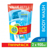 Anti-Bacterial Shower Gel Cool Refill 2sX900ml
