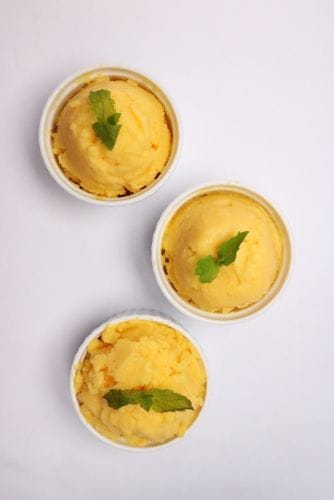 Goodness Gang Kids Recipe - Orange Sorbet