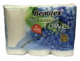 BEAUTEX Multi Purpose Kitchen Paper Towel 6X70Sheets