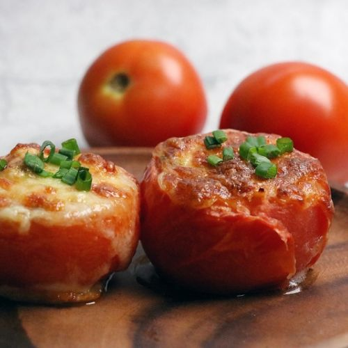 Goodness Gang Kids Recipe – Baked Stuffed Tomato