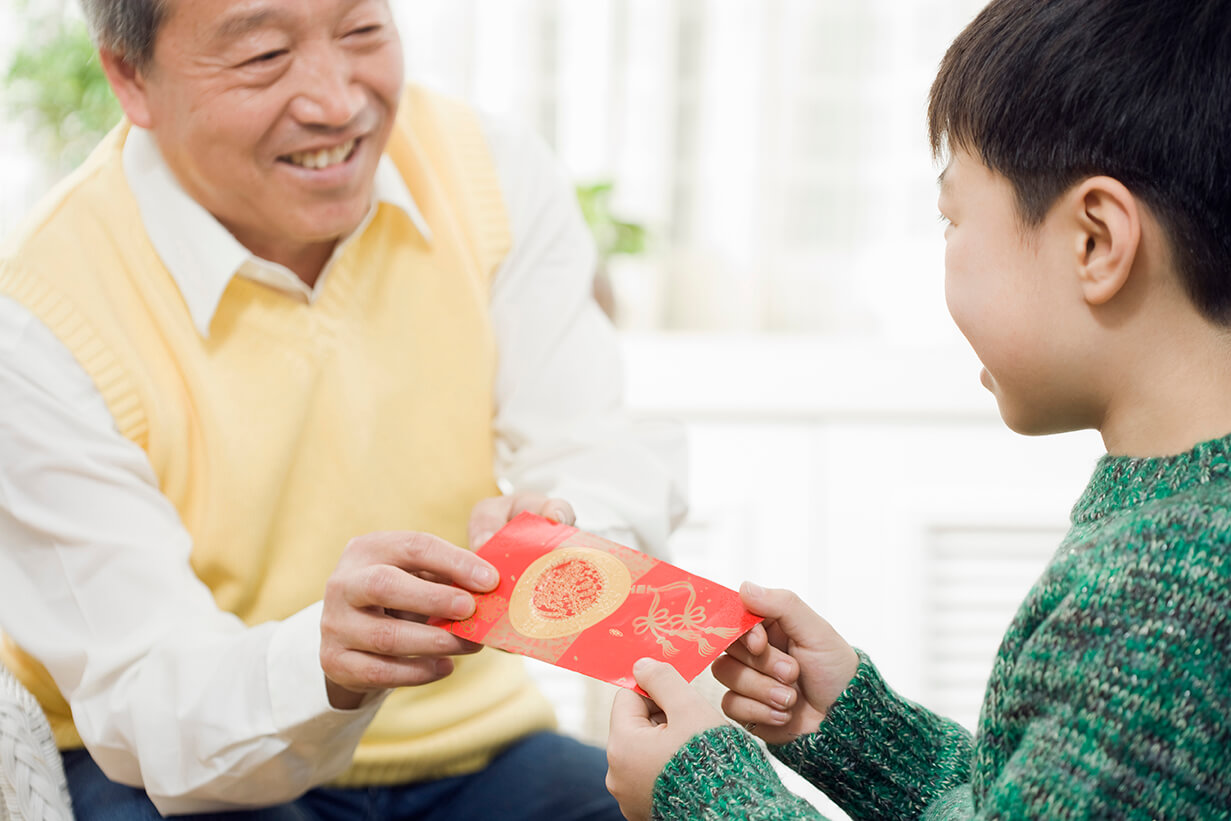 CNY Red Packet Giving